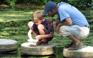 child and camp instructor at the Millstone Pond