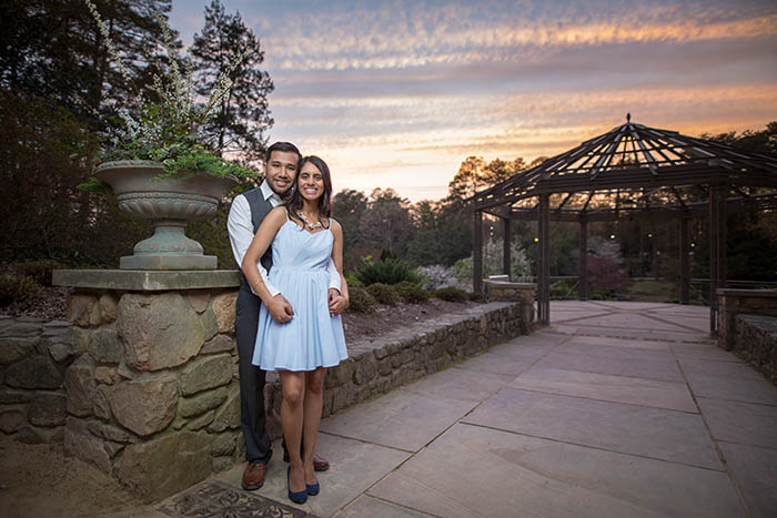Duke Gardens portrait