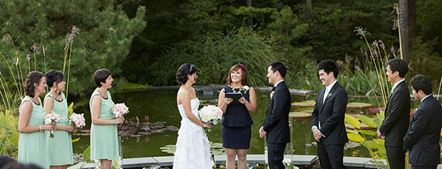 duke gardens alumni wedding